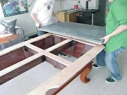 Billiard table moves in Sterling Heights Michigan