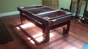 Correctly performing Billiard table installations, Sterling Heights Michigan