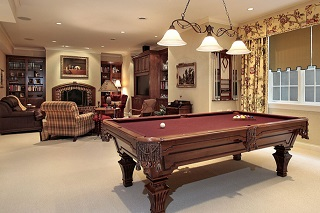 Sterling Heights billiard table room sizes image 1